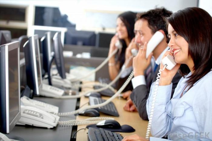 Porady dla telefonistki